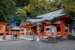 Kumano Nachi Taisha Grand Shrine em Wakayama, Japão fotografia de stock royalty free
