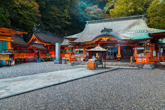 Kumano Nachi Taisha Grand Shrine i Wakayama, Japan royaltyfri bild