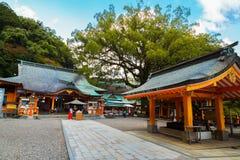Kumano Nachi Taisha Grand Shrine in Wakayama fotografia stock libera da diritti