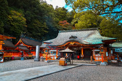 Kumano Nachi Taisha Grand Shrine in Wakayama Royalty Free Stock Photography
