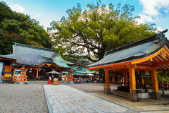 Kumano Nachi Taisha Grand Shrine in Wakayama Royalty Free Stock Photo