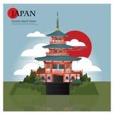 Kumano Nachi Taisha Japan Landmark et attractions de voyage Image libre de droits