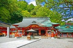 Kumano Nachi Taisha Shrine em Kii-Katsuura, Japão imagens de stock