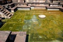 Ruins of Kumara Pokuna in Polonnaruwa Royalty Free Stock Images