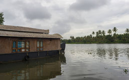 Kumarakom houseboat Stock Photos