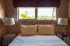 Kumarastad, NZ Binnenland van Barbara Weldon Room Bordello in Theater Koninklijk Hotel stock foto