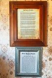 Kumarastad, NZ Binnenland van Barbara Weldon Room Bordello in Theater Koninklijk Hotel royalty-vrije stock fotografie