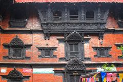 The Kumari Ghar (Kumari Chowk), Kathmandu, Nepal Royalty Free Stock Photos