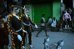 Kumartuli-Idol making aria Royalty Free Stock Photos