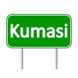 Kumasi road sign. Stock Image