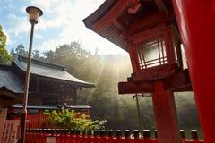 Kumatakasha in het Heiligdom van Fushimi Inari in Kyoto, royalty-vrije stock foto's