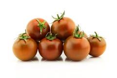 Kumato czereśniowi pomidory Fotografia Royalty Free