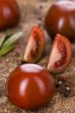 Kumato svarta tomater Royaltyfri Bild