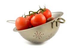 Kumato tomat och röd tomat Fotografering för Bildbyråer