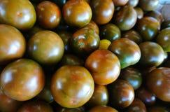 Kumato-Tomate im Markt für Verkauf Lizenzfreie Stockfotos