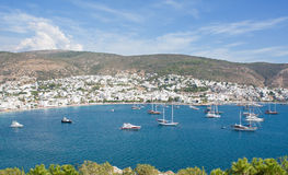 Kumbahce Bay in Bodrum, Turkey Royalty Free Stock Images