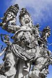 Kumbakarna Laga Statue Lizenzfreies Stockbild