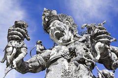 Kumbakarna Laga statue Royalty Free Stock Images