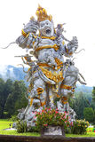 Kumbakarna Laga statue in Eka Karya Botanical Garden, Bedugul, Bali, Indonesia. Stock Photography