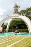 Kumbakarna Laga statue in Pura Uluwatu temple. Bali, Indonesia Stock Photo