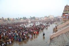 Kumbakonam maha magam festival. 20 feb 2016  tamilnadu INDIA - a traditional hindu festival of kumbakonam mahamagam festival which is celebrated once in every Royalty Free Stock Photos