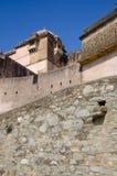 Kumbalgarh堡垒 库存照片