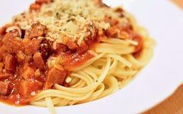 kumberlandu czerwony spaghetti Fotografia Stock
