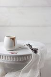 Kumberlandu naczynie na tortowym stojaku Fotografia Stock