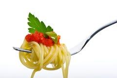 kumberlandu spaghetti pomidor Zdjęcie Stock