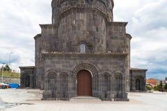 Kumbet教会在卡尔斯 免版税库存照片