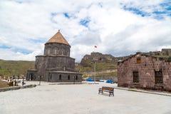 Kumbet教会在卡尔斯 库存图片