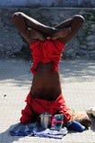 kumbh瑜伽 库存照片