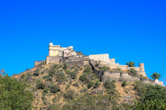 Kumbhal garh view from bottom Royalty Free Stock Images