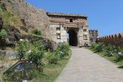 Kumbhalgardh Entrance Royalty Free Stock Photography