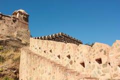 kumbhalgarh Индии форта Стоковые Изображения RF