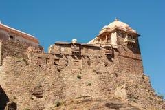 kumbhalgarh Индии форта Стоковая Фотография