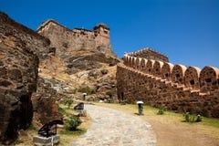 Kumbhalgarh Fort india Stock Photography
