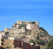 Kumbhalgarh fort in india Stock Photography