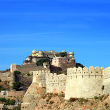 Kumbhalgarh fort in india Royalty Free Stock Photo