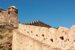 Kumbhalgarh fort India Royalty Free Stock Images