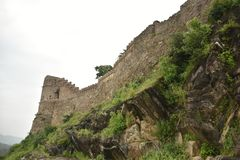Kumbhalgarh fort and monuments , Rajasthan. Kumbhalgarh fort, monuments and ruins, Rajasthan, India Stock Photography