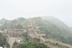 Kumbhalgarh fort and monuments , Rajasthan. Kumbhalgarh fort, monuments and ruins, Rajasthan, India Royalty Free Stock Images