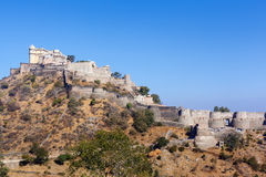 Kumbhalgarh Fort, Rajasthan Stock Photos