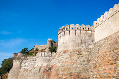 Kumbhalgarh fort, Rajasthan, India Stock Images