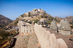 Kumbhalgarh Fort in Rajasthan Royalty Free Stock Image
