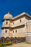 Kumbhalgarh Fort in Rajasthan, one of the biggest fort in India. Kumbhalgarh, Rajasthan, India - November 21 2016: Kumbhalgarh Fort is a Mewar fortress on the Stock Photography