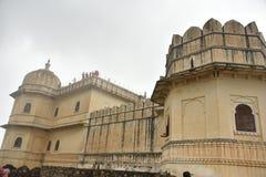 Kumbhalgarhfort en monumenten, Rajasthan royalty-vrije stock afbeelding