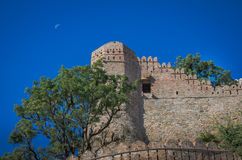 Kumbhalgarhfort in Rajasthan, één van het grootste fort in India Royalty-vrije Stock Afbeeldingen