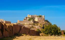 Kumbhalgarhfort, Rajasthan, India, Azië Stock Foto