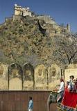 Kumbhalgarth Fort - Rajasthan - India. Kumbhalgarth Fort in the Aravalli Hills of Rajasthan in western India Royalty Free Stock Photo
